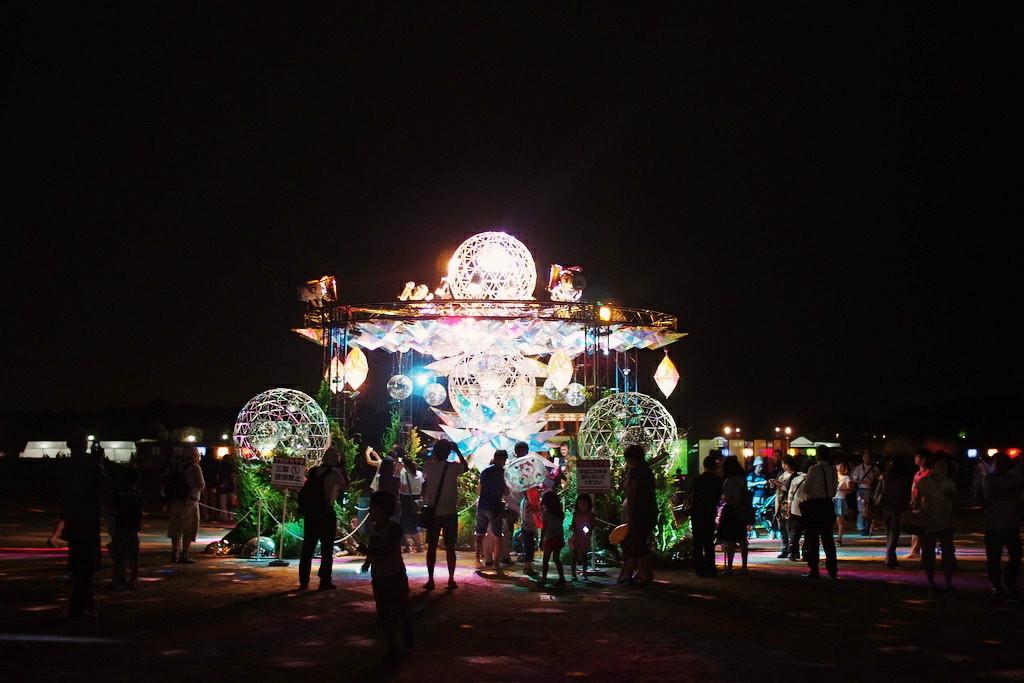奈良天平祭 光のモニュメント
