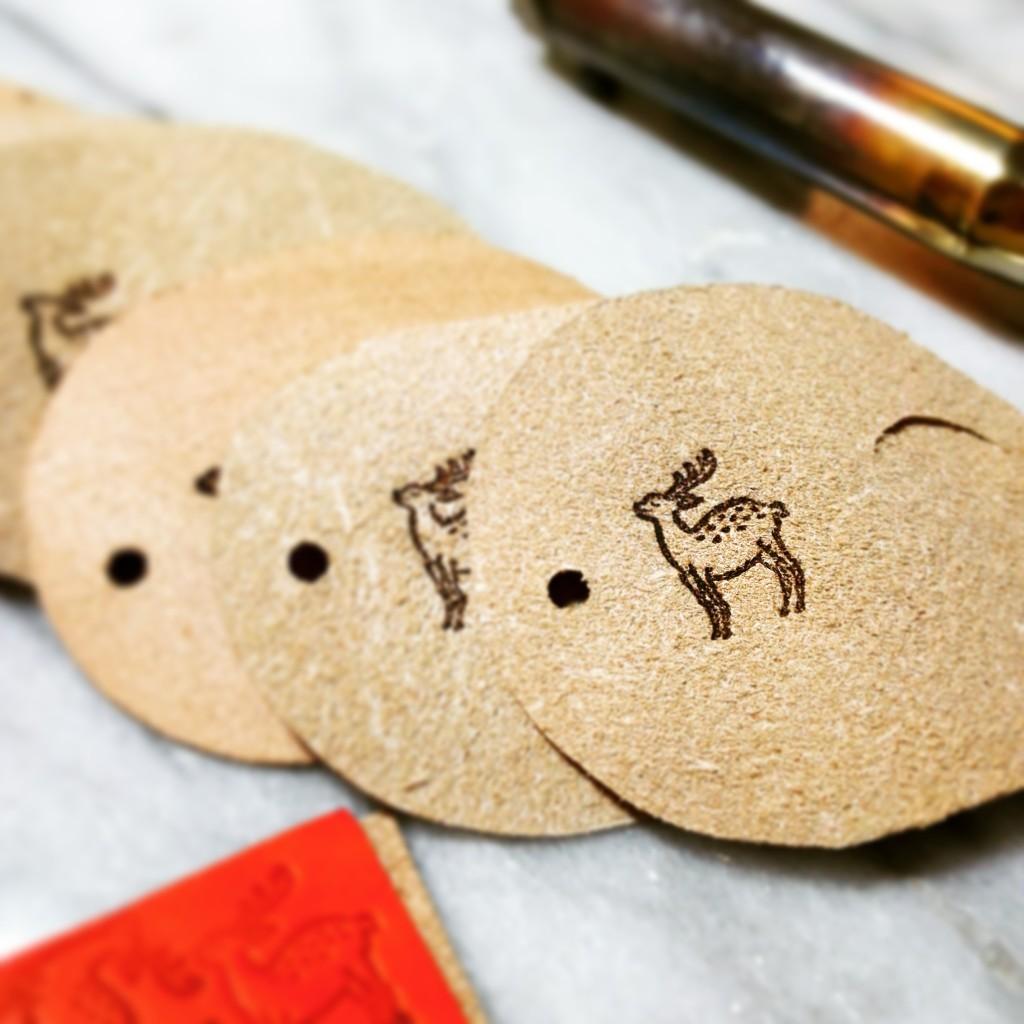 鹿の焼き印 奈良土産