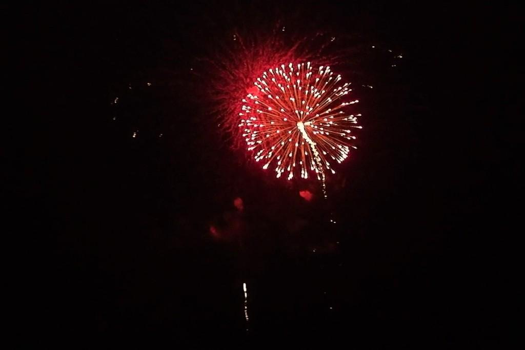 奈良公園 若草山 なら瑠璃絵 花火