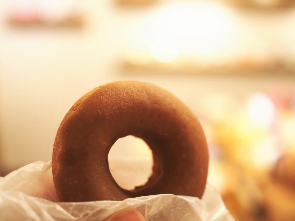塩キャラメルドーナツ 奈良の自然派ドーナツのフロレスタ