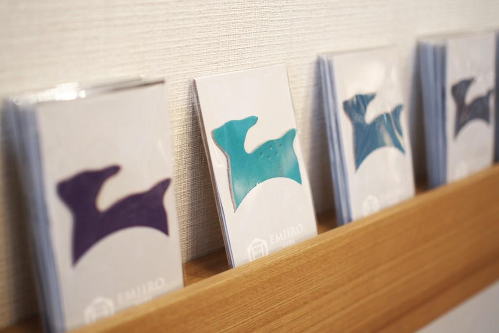 子鹿のしおり 水色 水縹(みずはなだ) 日本の伝統色