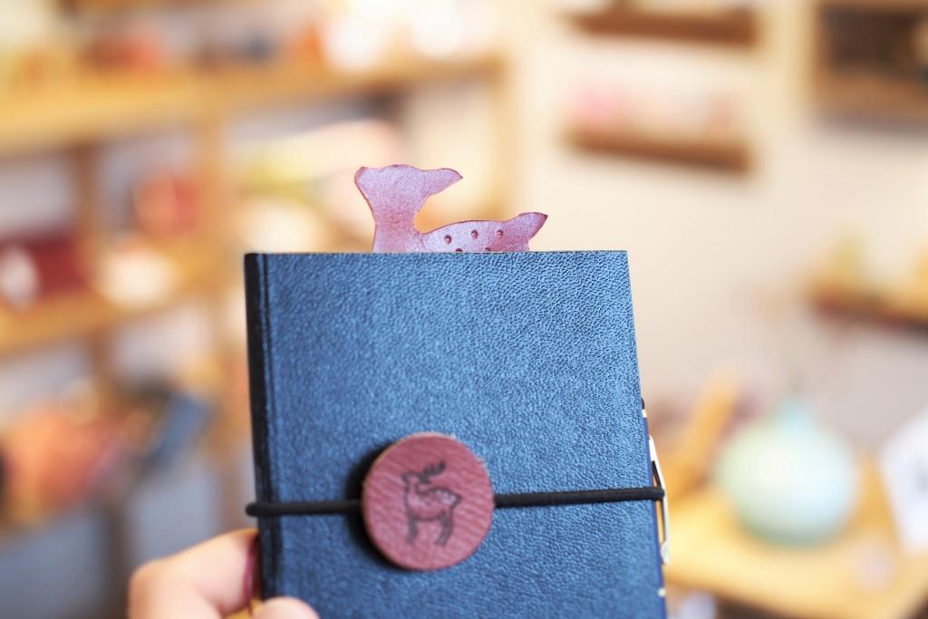 子鹿のしおり 奈良のお土産