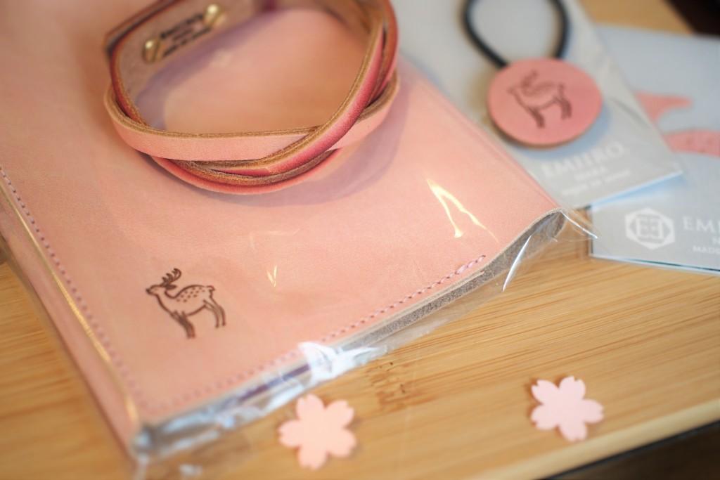 桜色フェア レザーグッズ