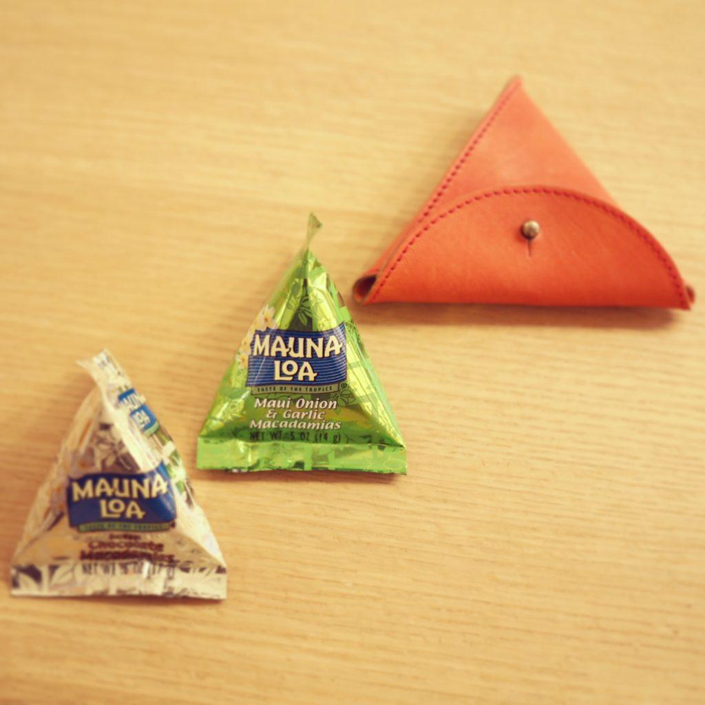 三角形のハワイ土産