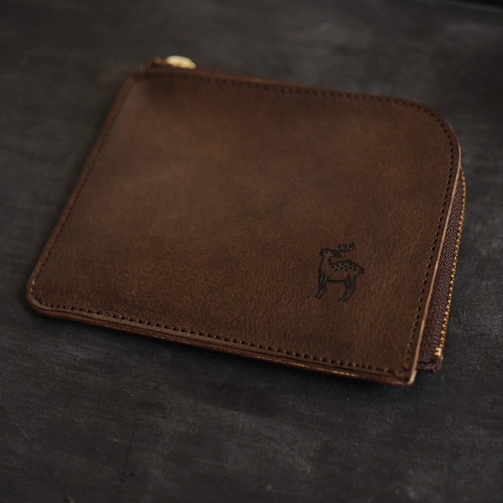 手の平サイズのお財布「Lファスナー財布」