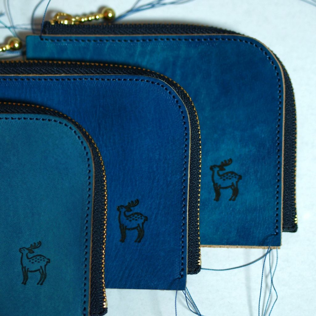Lファスナー財布の制作